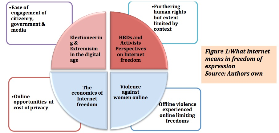 what internet freedom means