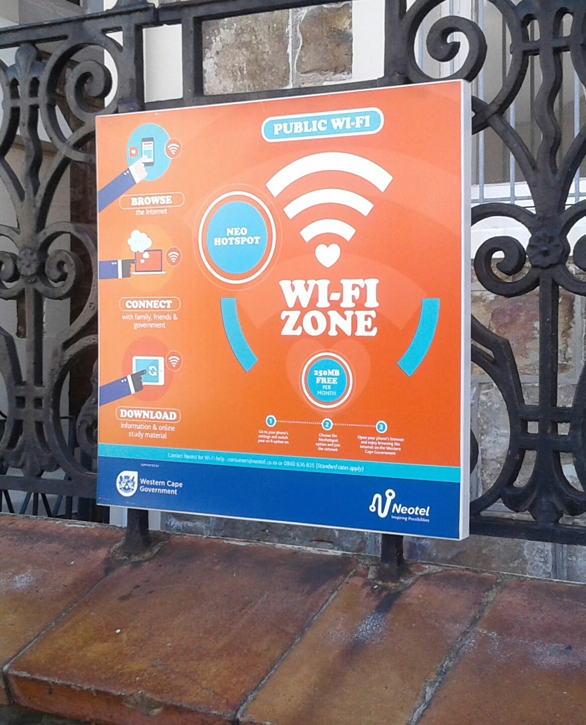 Surprising Taking Public Wifi For A Spin The Western Cape And Neotel Gmtry Best Dining Table And Chair Ideas Images Gmtryco