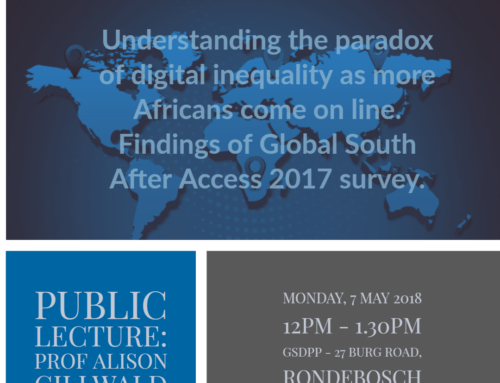 Public Lecture: Understanding the paradox of digital inequality as more Africans come on line