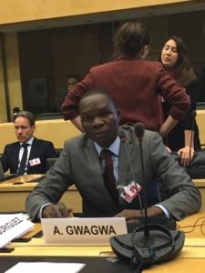 Arthur Gwagwa, RANITP Fellow